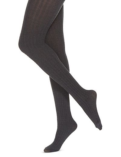3fc0bbce51f088 100 Denier Heatgen™ Thermal Cable Knit Tights   Wants   Cable knit ...