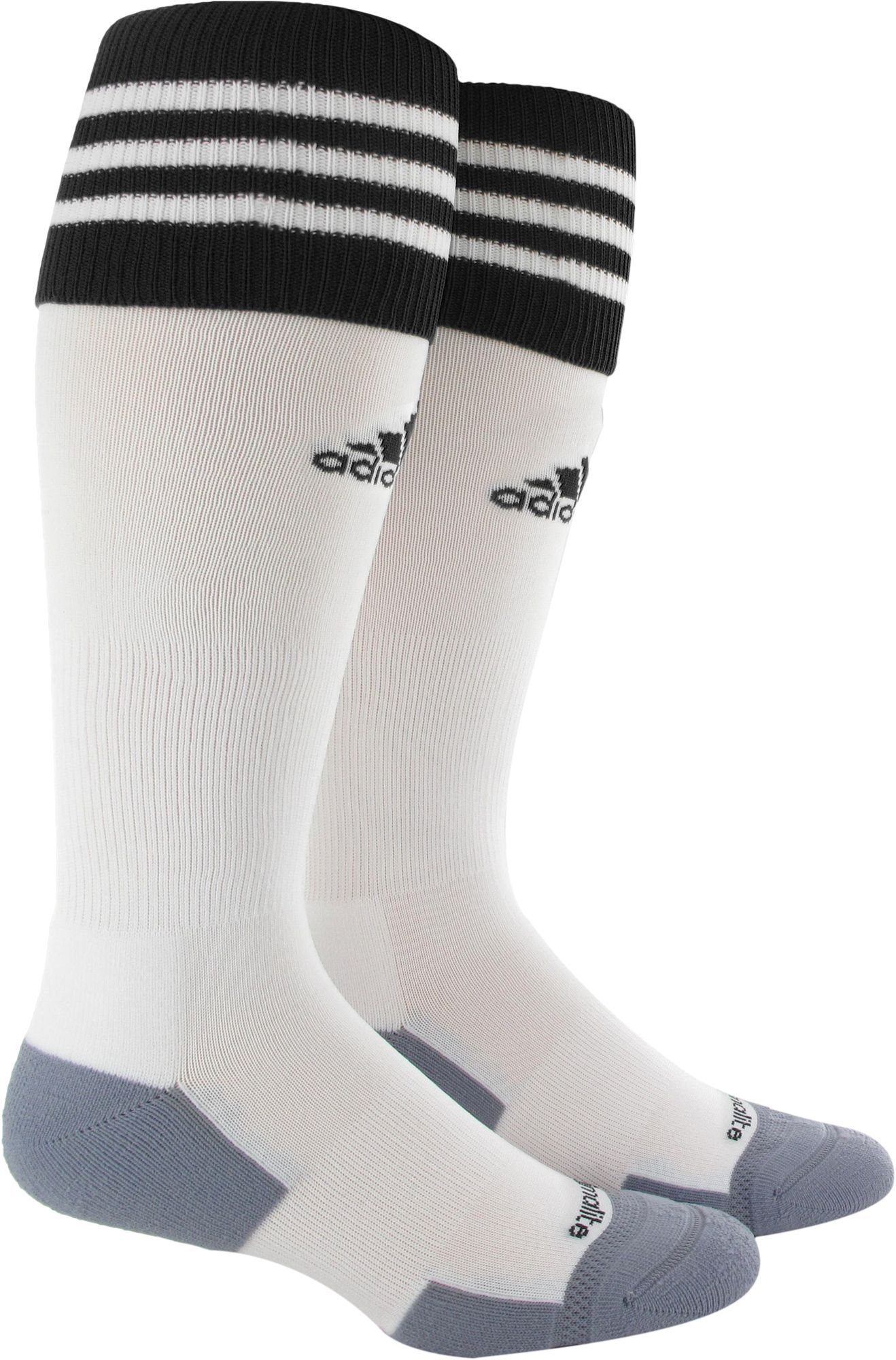 a500283aa adidas Copa Zone Cushion II Soccer Socks, Kids Unisex, Size: Medium, White