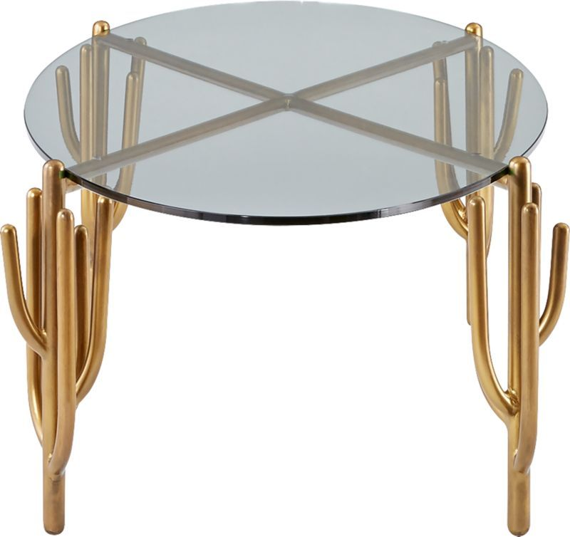 Cacti Brass Coffee Table Sold Out Brass Coffee Table Coffee