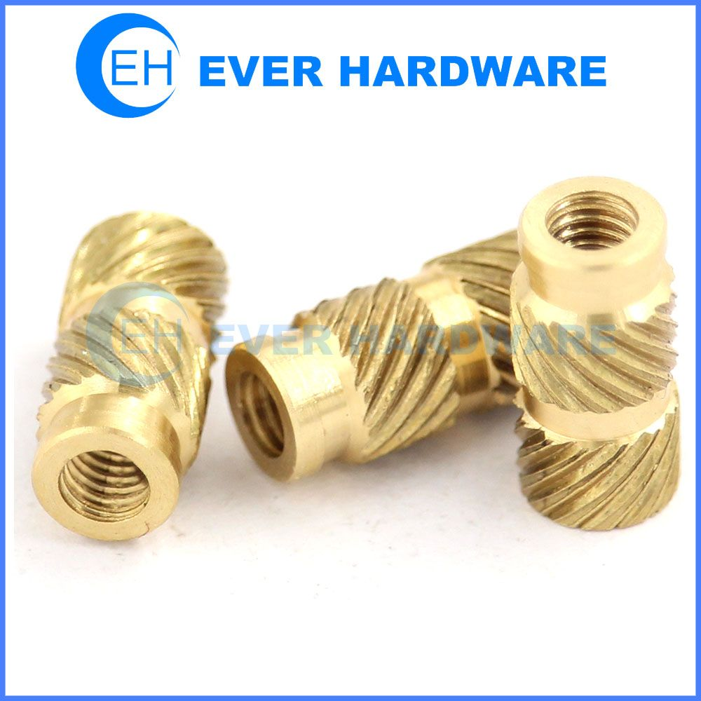 Brass Ferrules Brass Insert Nuts Brass Threaded Inserts Thumb Nut