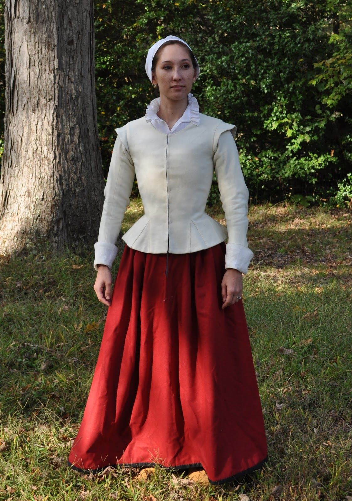 What clothes did people wear in the 17th Century?