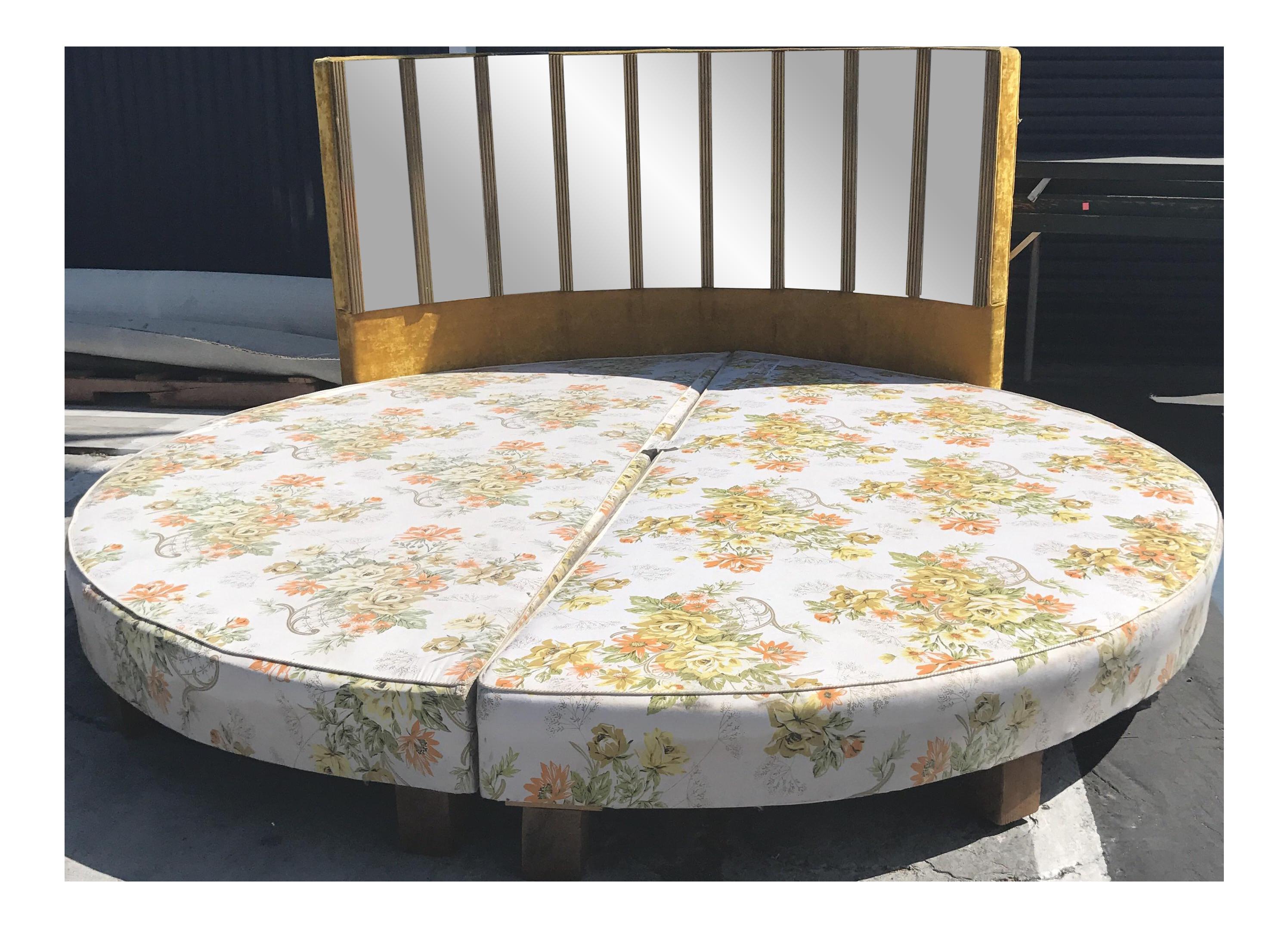 Best Hollywood Regency Round Bed Round Beds Bed Bed Frame 400 x 300