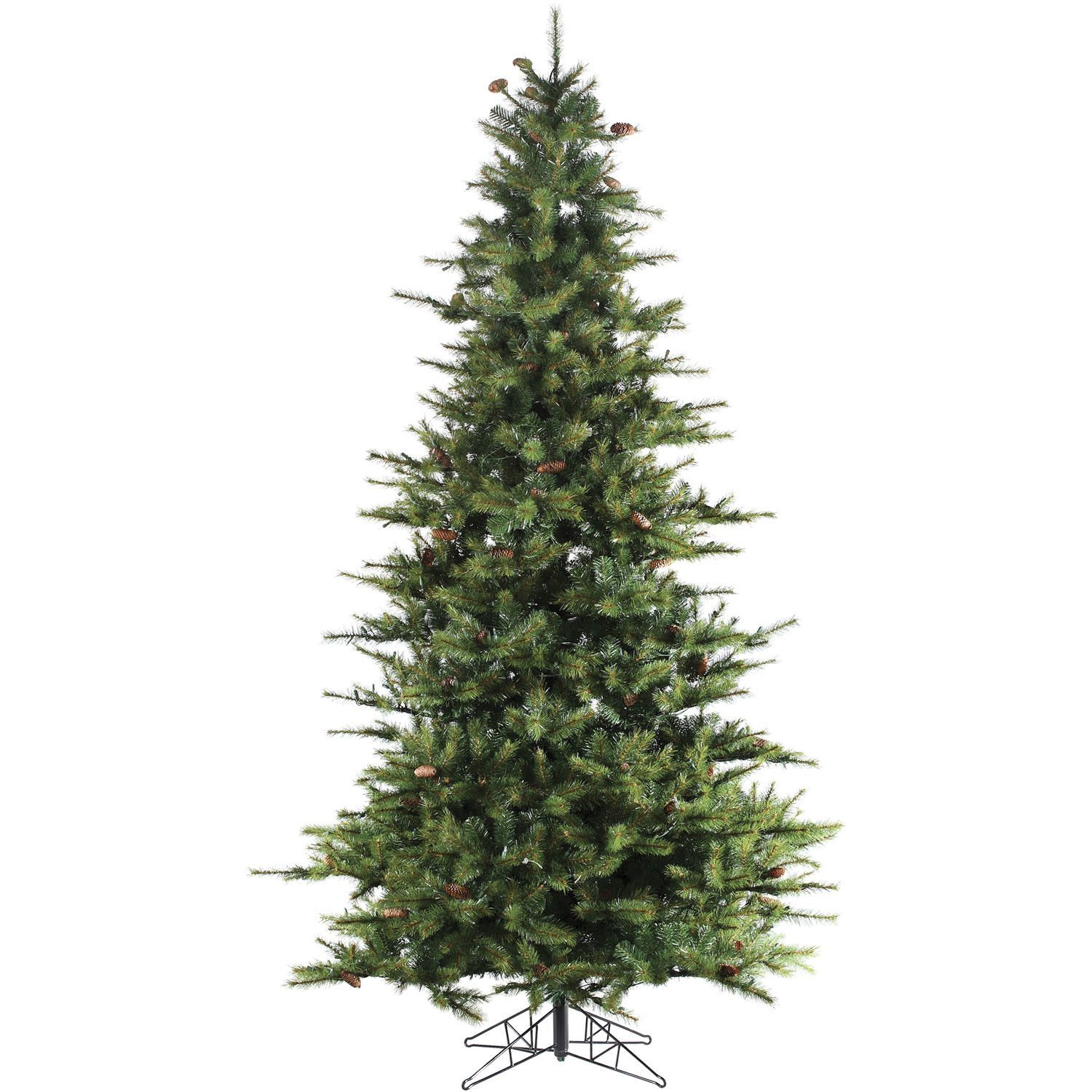 Southern Peace Pine 9 Green Artificial Christmas Tree With Stand Unlit Christmas Trees Artificial Christmas Tree Led Christmas Tree