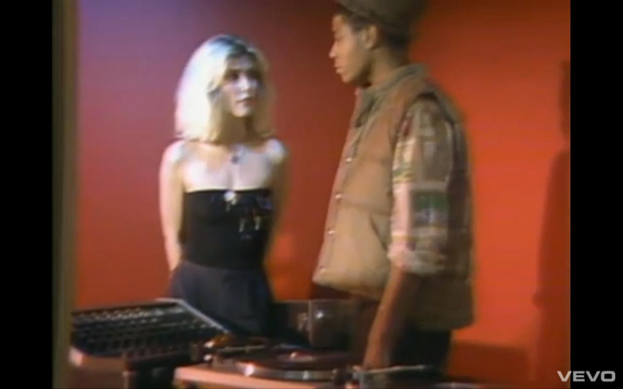 basquiat in blondie rapture video clip | Blondie rapture, Concert, Rapture