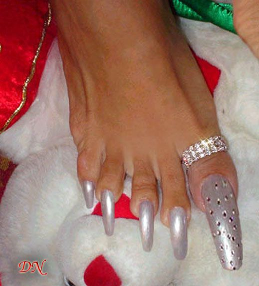 Pity, young girls long toes what that
