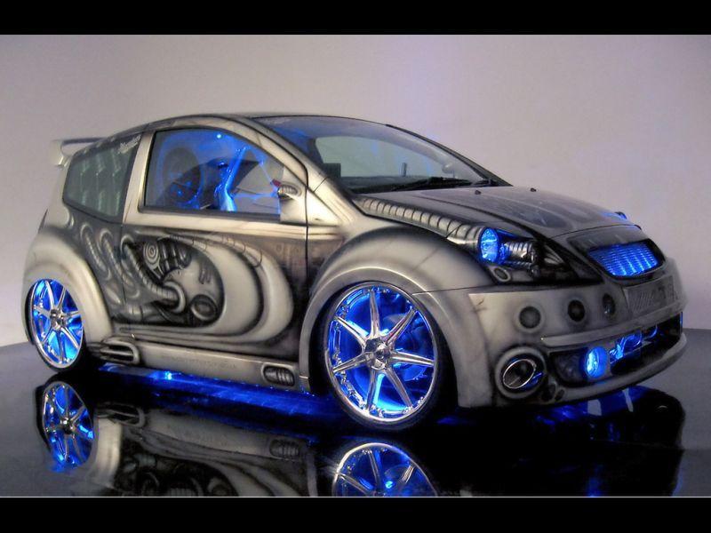 Citroen C2 | Custom Designs Research | Pimped out cars, Car