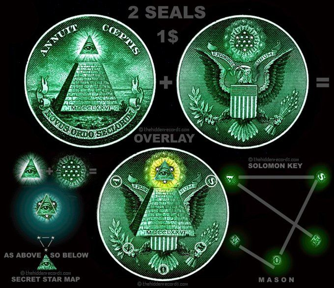 Dollar Bill Secrets | THE ONE DOLLAR BILL STAR MAP | And By His