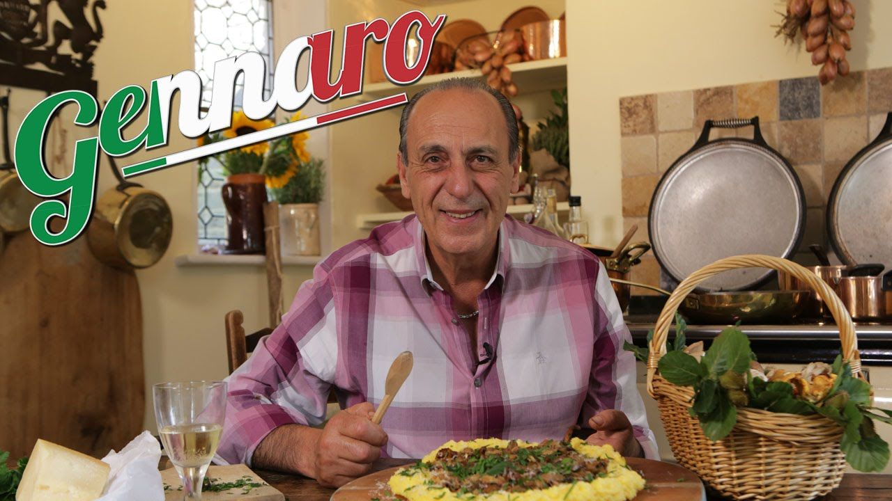 Genaro Contaldo Wild Mushrooms Polenta Recipe