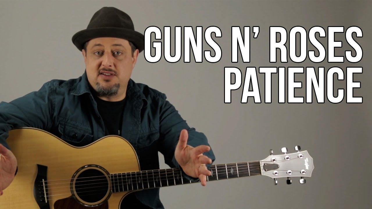 How To Play Patience By Guns N Roses Easy Acoustic Songs On