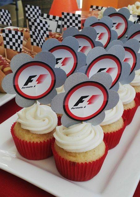 formula 1 logo cupcakes formula 1 party ideas party ferrari rh pinterest com