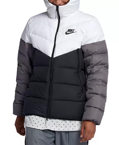 Nike Men's Windrunner Colorblocked Puffer Jacket & Reviews ...