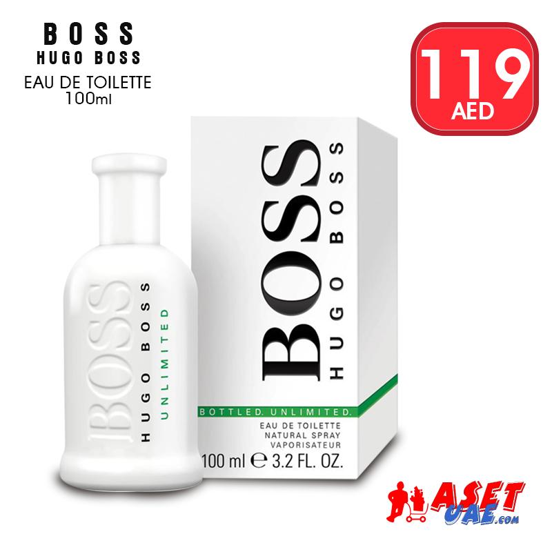 Boss Unlimited For Men 100 Ml Eau De Toilette By Hugo Boss Daily