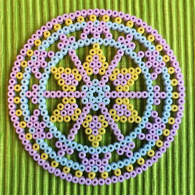 Mandala hama beads by petrawettero