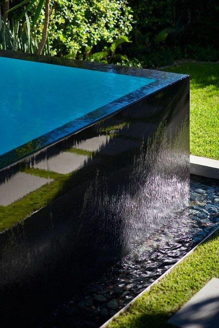 21 Amazing Modern Black Tile Design Ideas Swimming Pool Swimmingpooldesign Swimmingworkout Poollandscaping Pool Designs Pool Black Tiles