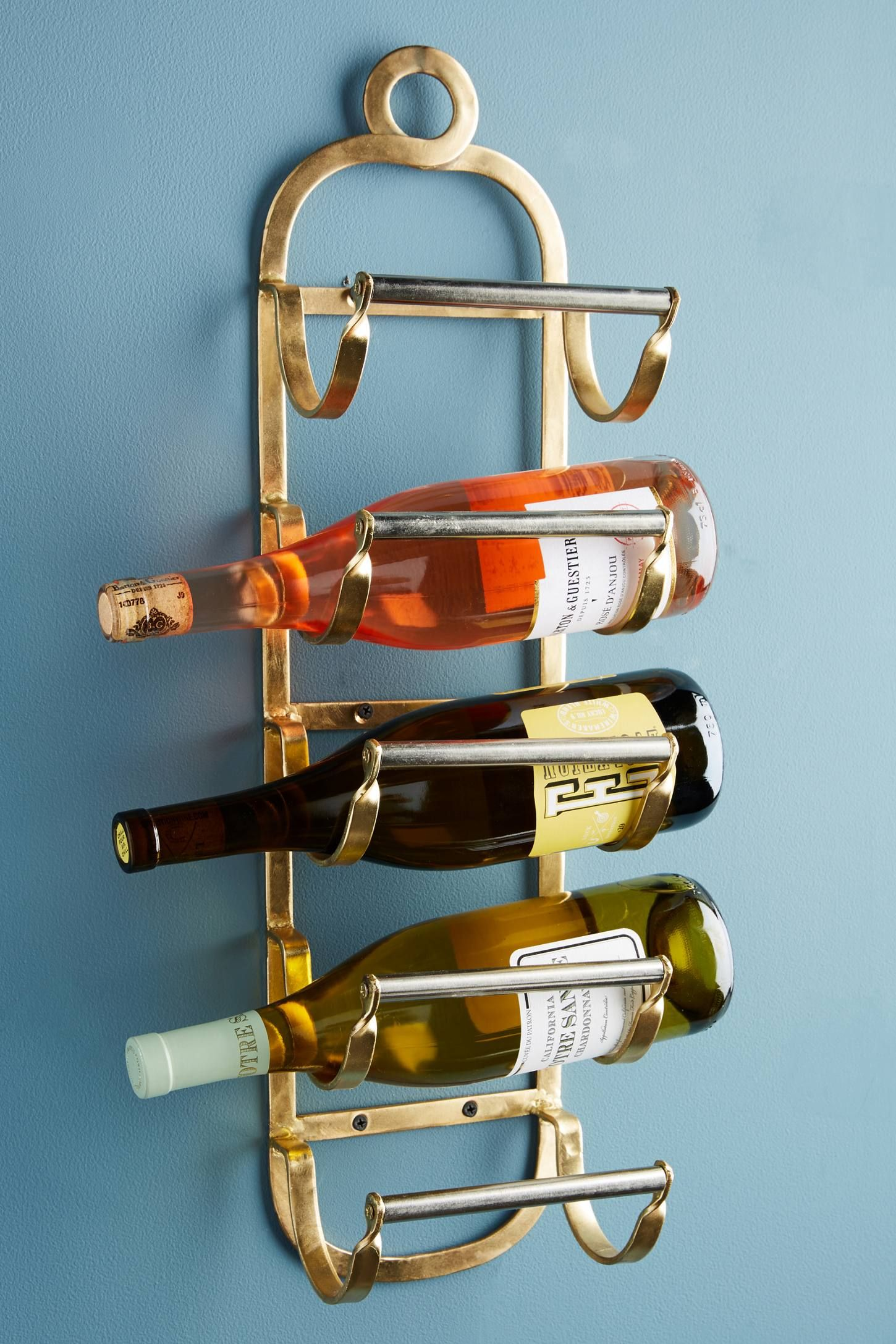 Antique Brass Wine Rack | Wine rack, Antique brass and Mudroom