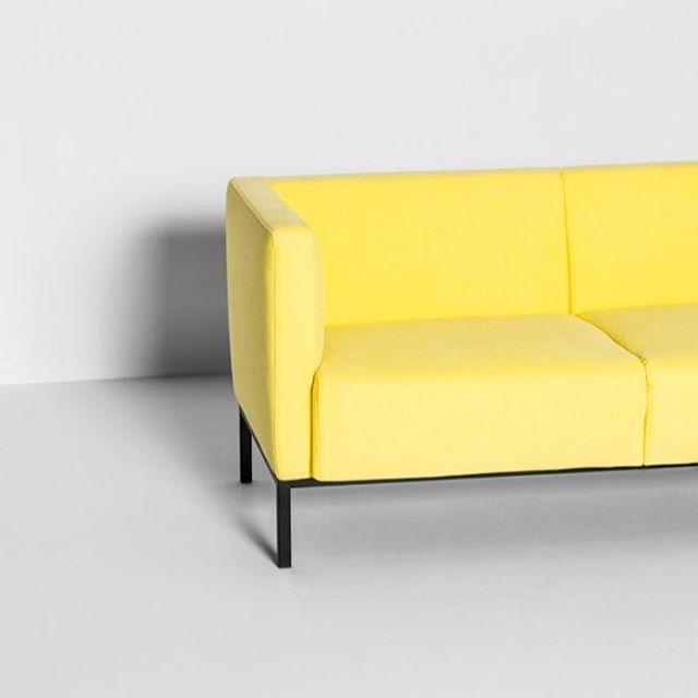 Chaise Sofa Our Taxi seat sofa Available in bright yellow Fully removable covers