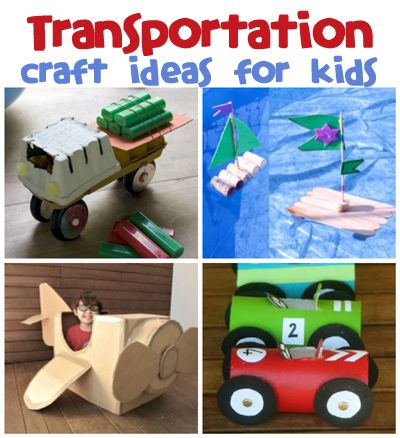 Transportation Craft Ideas | Kid Stuff | Transportation crafts