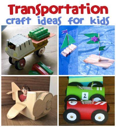 back to school crafts for preschooler | Transportation Craft Ideas | Fun Family Crafts