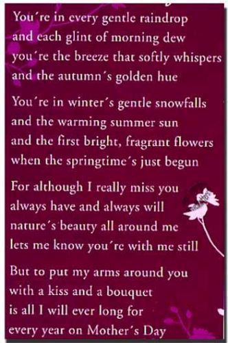 Happy Mothers Day To Grandma In Heaven Wishes And Greetings For Mom These Is A Beautiful Poem Mother S Day In Heaven Mom Poems Happy Mothers Day Poem