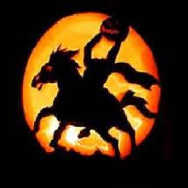 The Headless Horseman From The Legend Of Sleepy Hollow Pumpkin Pumpkin Carving Halloween Pumpkins Carvings Pumpkin Carving Patterns
