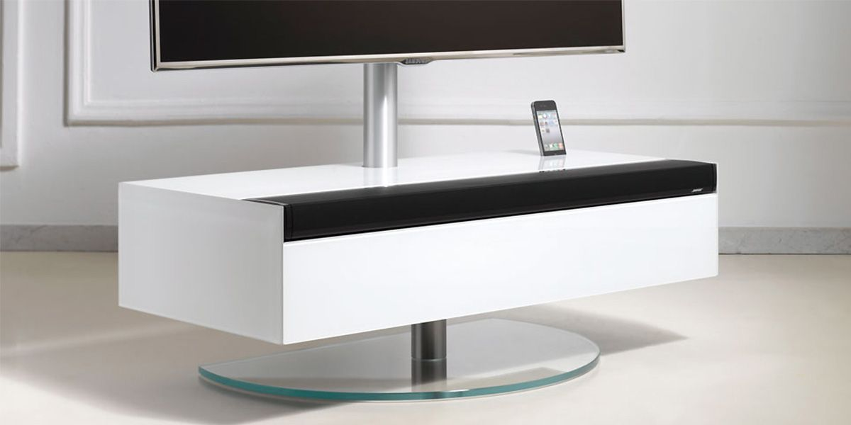 Meuble Tv Avec Integration Barre De Son Bose Spectral Disc 03 En 2020 Meuble Tv En Coin Meuble Tv Meuble Hifi