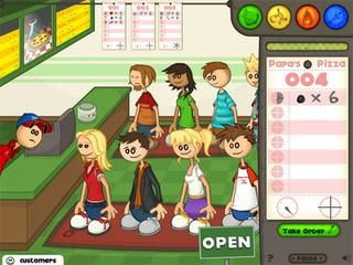 Play Papa's Pizzeria at Cool Math Kids Game : Papa's Pizzeria is a ...