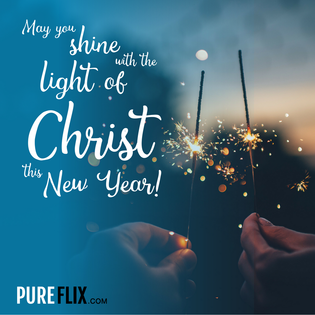 Thank you, Lord, for a new year and a new chance to grow closer to ...