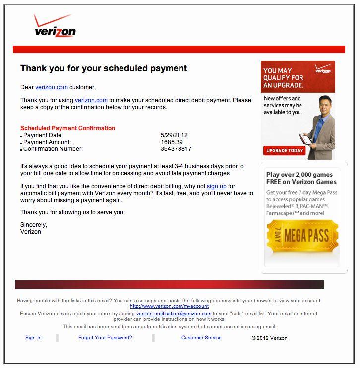 Fake cell phone bill template new verizon phone bill
