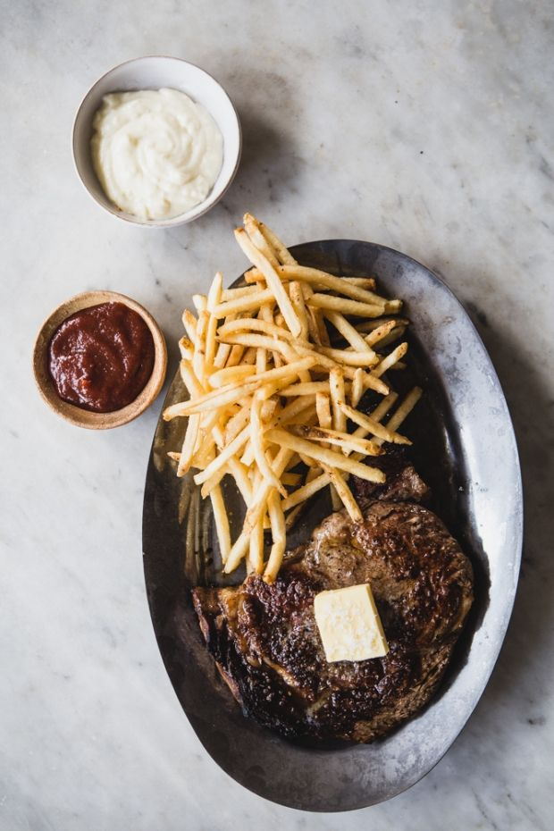 Skillet Seared Steak Frites