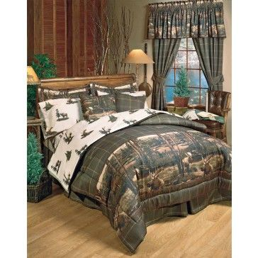 Moose Mountain Comforter Sets Bedroom Ideas Rustic Bedding