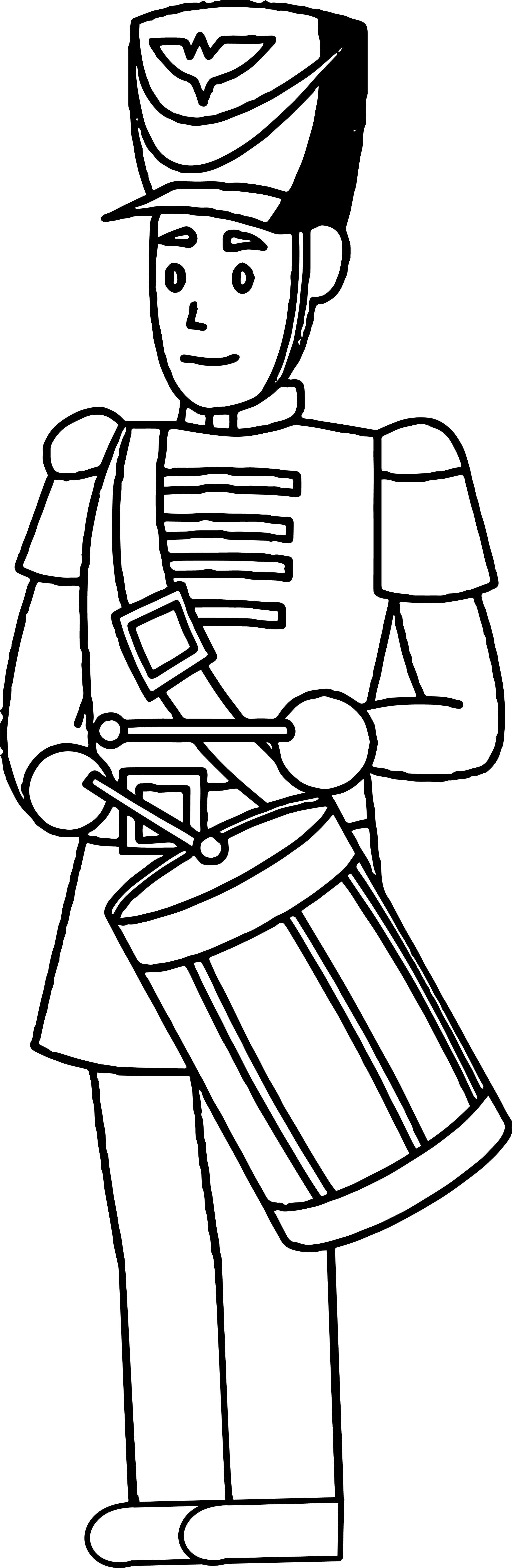 Cool Wood Toy Soldier Coloring Page Coloring Pages Toy Soldiers Soldier Drawing