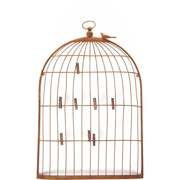 Flamant Home Interiors Bird Cage Picture Board Found On Polyvore