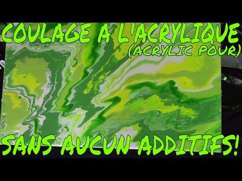 29) 3 Méthodes Différente En Coulage Acrylique, Flotroel, Huile Et