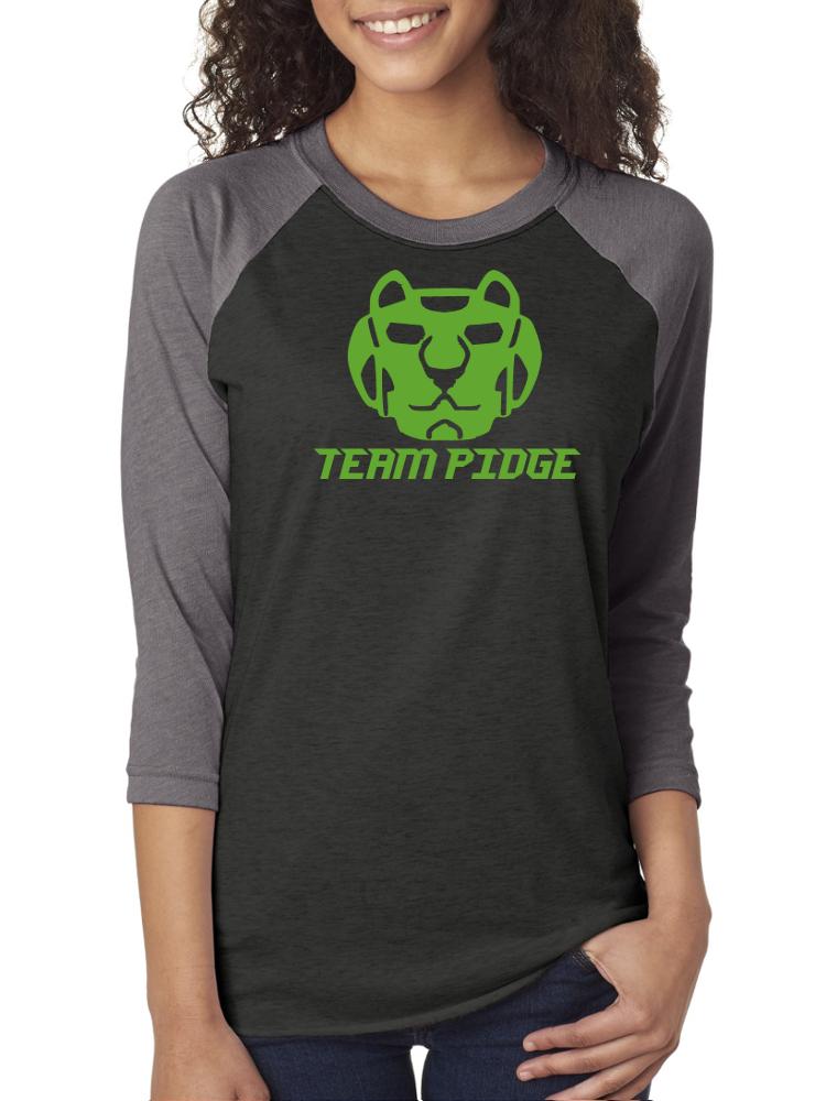1ac526781 Team Pidge, Green Lion, Robot Lions, Voltron Raglan 3/4 Sleeve Unisex  Baseball Tee,Nerd Girl Tees