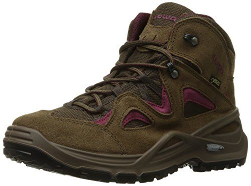 Lowa Womens Bora GTX QC WS Hiking Boot BrownBerry 95 M US *** More info could be found at the image url.(This is an Amazon affiliate link and I receive a commission for the sales)