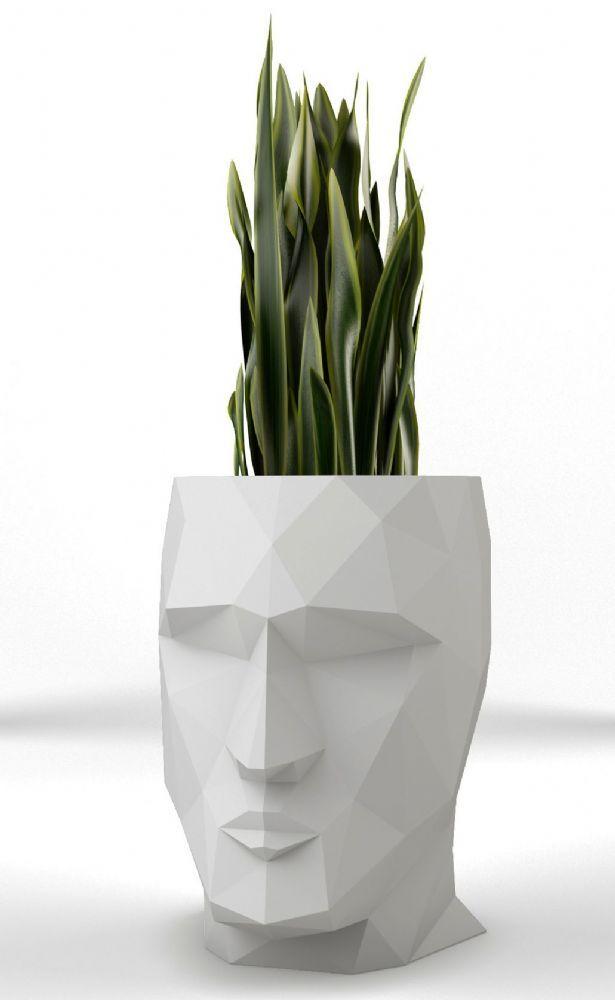 Adan Pots by Vondom from potstore.co.uk Fantastic Head Planters as ...