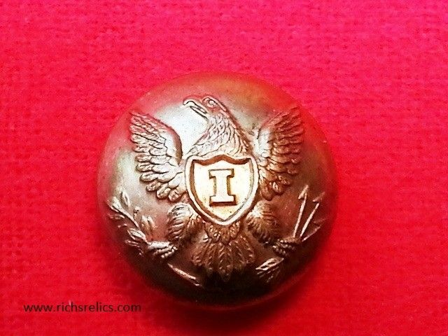 dating civil war buttons 2 west virginia state seal buttons, in brass and gilt the small one might be from the state militia, dating from pre-civil war, and other is early post civil war.