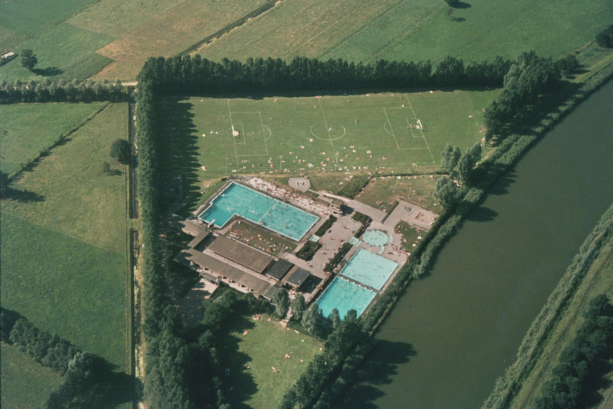Zwembad het Wendelgoor.