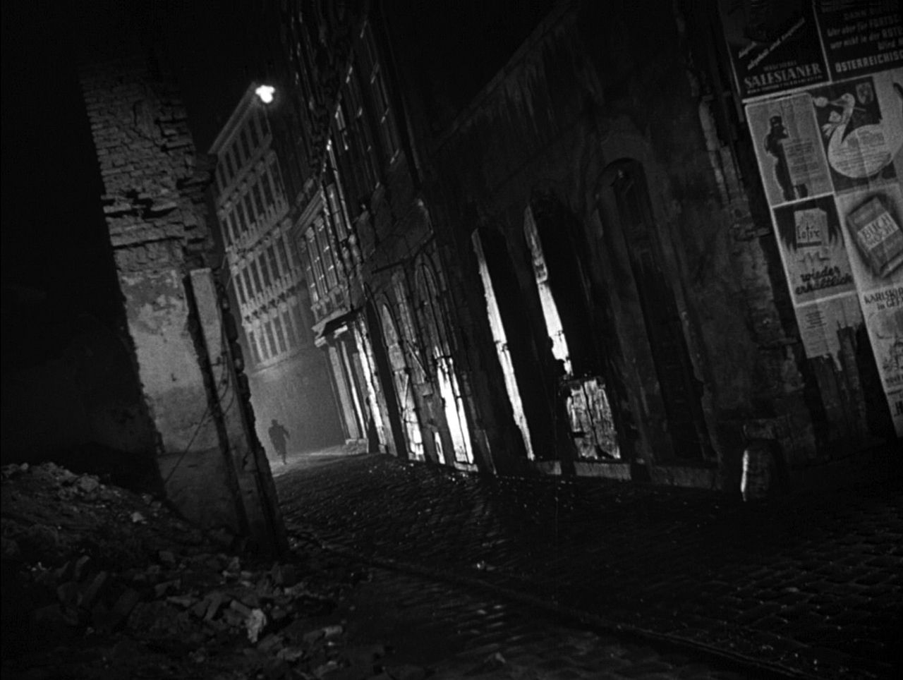 Vienna, 1949. The Third Man. | The third man, Film stills, Dark city