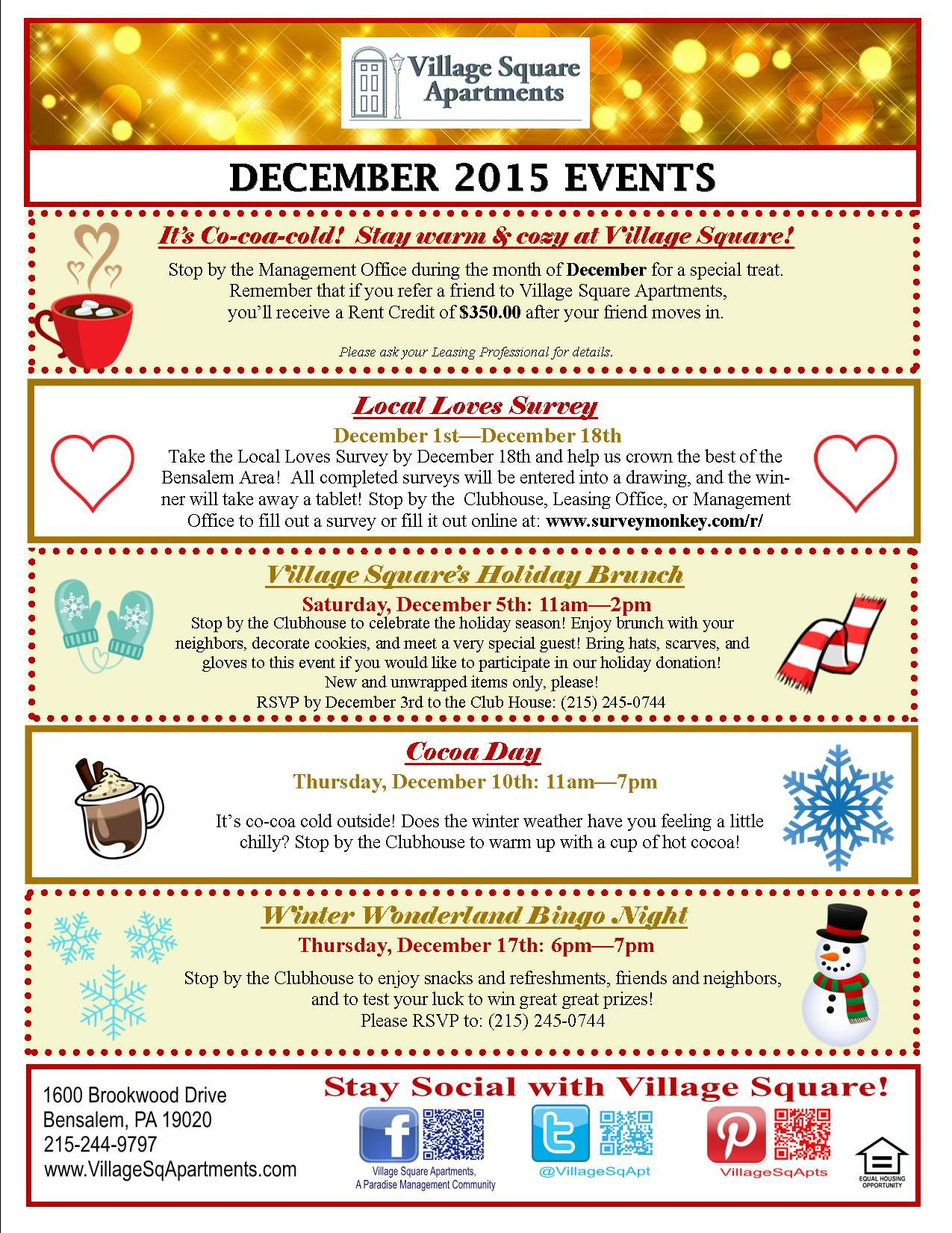 Pin By Village Square Apartments On Resident Events Pinterest Retention Marketing And Property Management