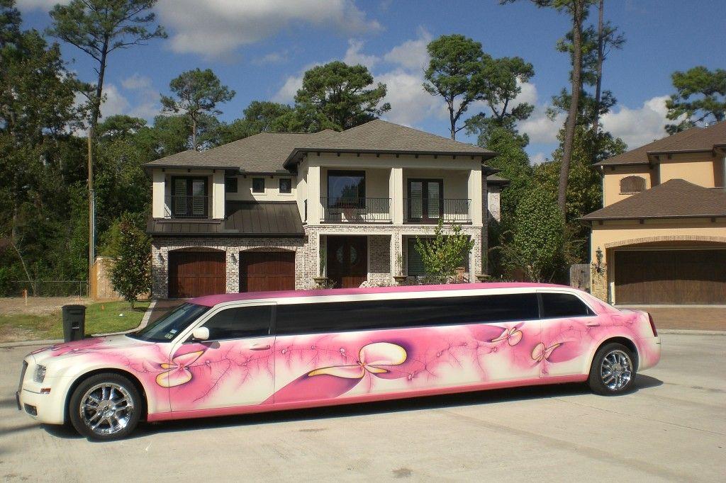"""Pink Orchid"""" 12 Passenger Chrysler 300 Limo Chrysler 300"""