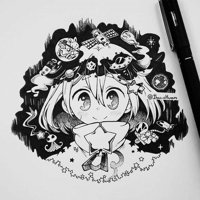 BLACK&WHITE | ibu-chuan | Pinterest | Libros para colorear, Dibujo y ...