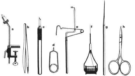 приспособление для вязание мушек своими руками мухи вязание