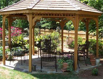 Open Air Gazebo Outdoor Pergola Backyard