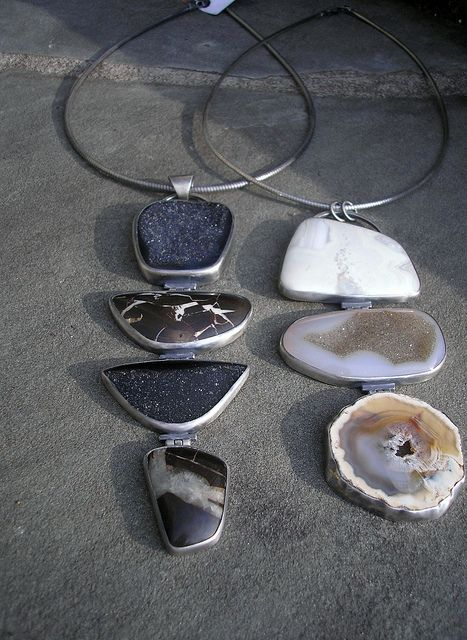 giant hinged necklaces | Flickr - Photo Sharing!