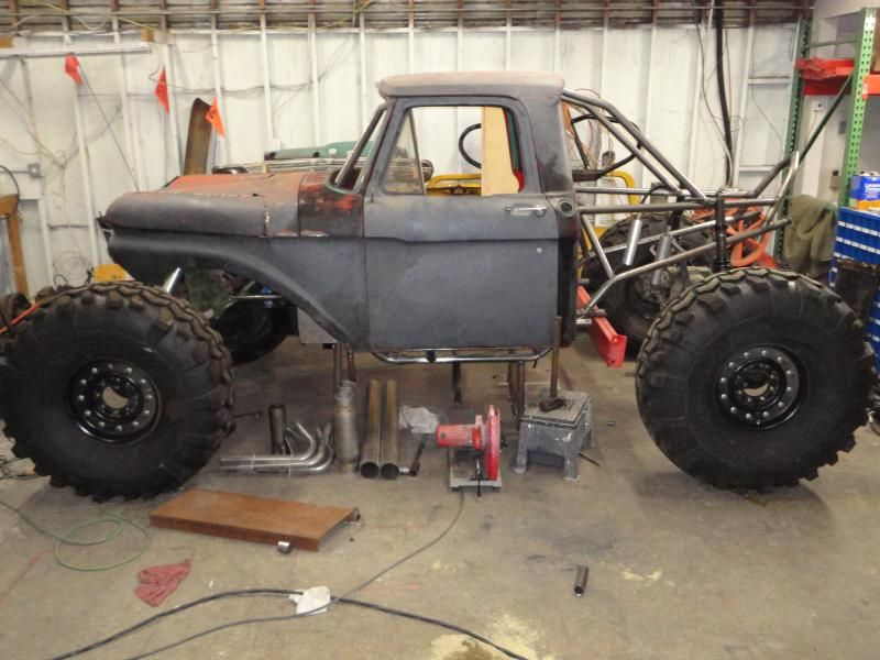 1966 Ford F100 Truggy Offroad Vehicles Mud Trucks Offroad Trucks