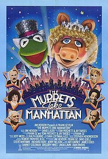 The Muppets Take Manhattan is a 1984 family film directed by Frank Oz. It is the third of a series of live-action musical feature films star...