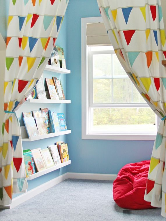 Reading room for children