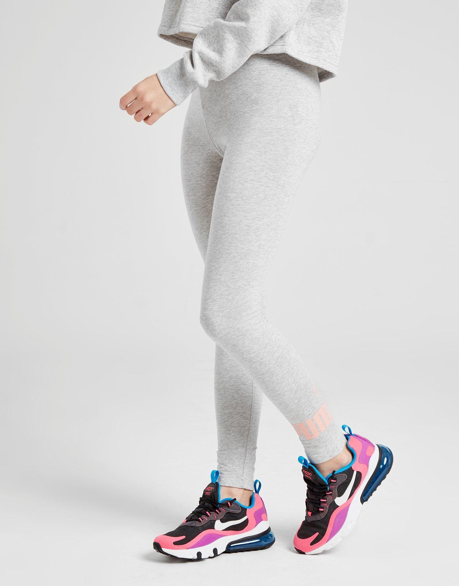 Shop online for PUMA Girls' Core Leggings Junior in Grey