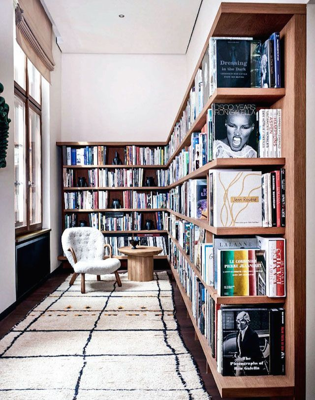 Vintage Revival in Berlin in 2020 Home library rooms